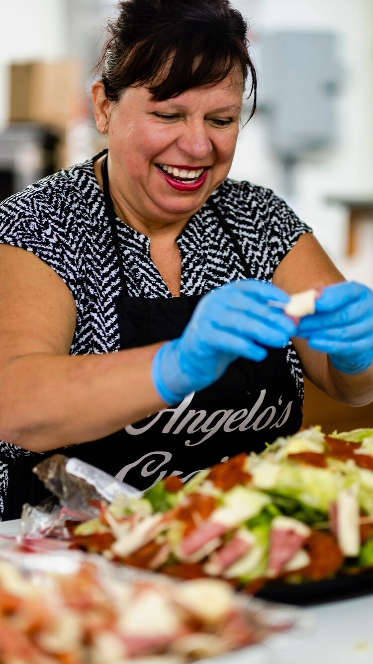 Debbie Huey: Owner of Angelo's Cucina & Catering in Jeannette, PA